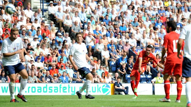 Soccer - Pre-Season Friendly - Preston North End v Liverpool - Deepdale
