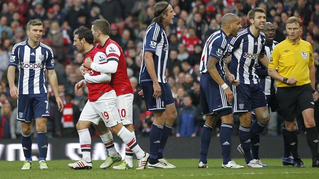 Premier League - Managers: West Brom fury at Cazorla dive