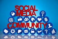 Social Media Strategy: Tips For Small Business  image social media community icesugarmedia 300x199