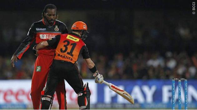 Live Cricket Score, IPL 2016 final, RCB vs SRH: RCB scalp SRH opener Dhawan after fluent stand in Bangalore