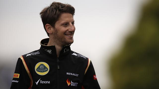 Formula 1 - Lotus thinks it might lose Grosjean