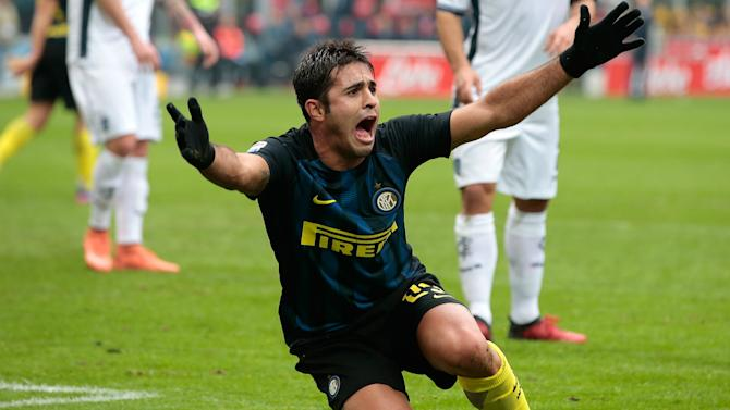 Serie A top three setting 'incredible' pace, says Eder