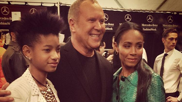 Willow Smith, Michael Kors, Jada Pinkett Smith