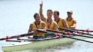 Australia's men's quad sculls team claimed the bronze