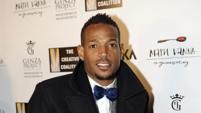 Marlon Wayans arrives at the Creative Coalition Night Before Dinner on Sunday Jan. 20, 2013, in Washington. (Photo by Nick Wass/Invision/AP)