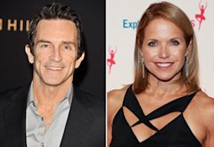 Jeff Probst, Katie Couric | Photo Credits: George Pimentel/WireImage, Charles Eshelman/FilmMagic
