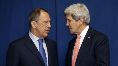 Raw: Kerry, Lavrov Meet at Rome Conference