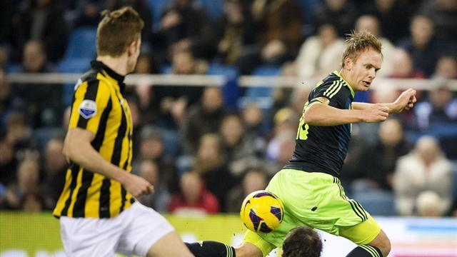 World Football - Vitesse fight back from two down to stun Ajax