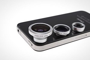 Lens for iPhones and iPads