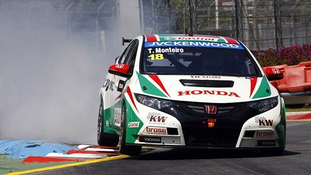 WTCC - Monteiro left disappointed in home race qualifying