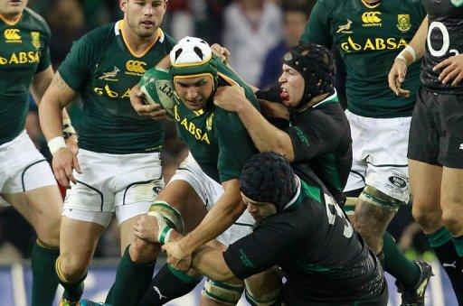 Unbeaten tour ends Springboks season on high note