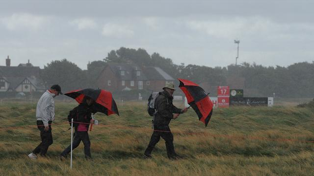 British Open scores annulled at windy Hoylake
