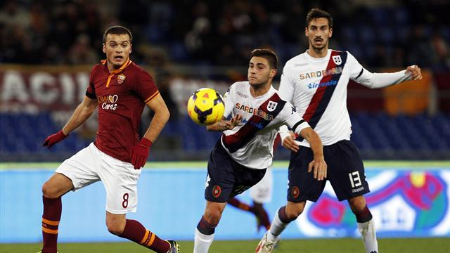 Serie A - Roma surrender top spot after third straight draw