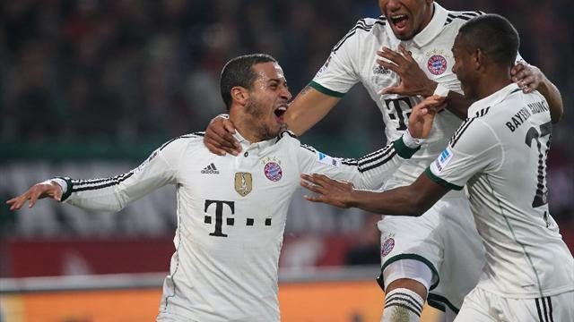Bundesliga - Dominant Bayern hit four at Hannover