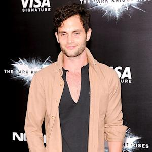 """Penn Badgley: I'm """"Genuinely Happy"""" for Ex Blake Lively's Marriage to Ryan Reynolds"""