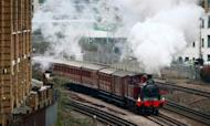 Underground: Steam Train Marks 150 Years Of Tube