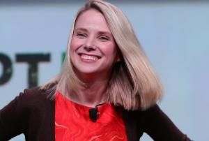 Yahoo Quarterly Earnings Fall, But Results Hit Wall Street Projections