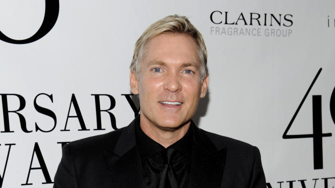 "FILE - This May 21, 2012 file photo shows weatherman Sam Champion from ""Good Morning America"" attending the FiFi Fragrance Awards at Alice Tully Hall in New York. Champion will host The Daytime Entertainment Emmy Awards, joining forces with HLN network's A.J. Hammer and Robin Meade. HLN announced Wednesday, June 5, 2013, that this trio will preside when the awards show airs live June 16 from the Beverly Hilton hotel in Beverly Hills, Calif. (AP Photo/Evan Agostini, file)"