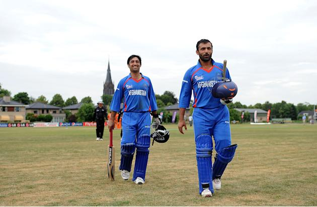 Netherlands v Afghanistan - ICC World Cricket League Division One