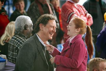 Judge Reinhold and Liliana Mumy in Disney's The Santa Clause 3: The Escape Clause