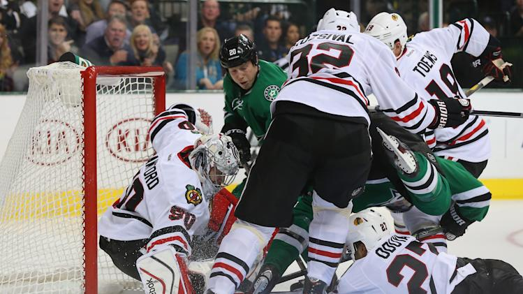 Chicago Blackhawks v Dallas Stars
