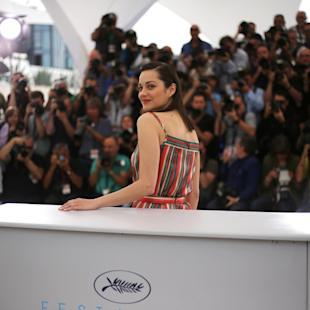 Marion Cotillard poses for photographers during a photo call for the film Macbeth, at the 68th international film festival, Cannes, southern France, Saturday, May 23, 2015. (Photo by Joel Ryan/Invision/AP)