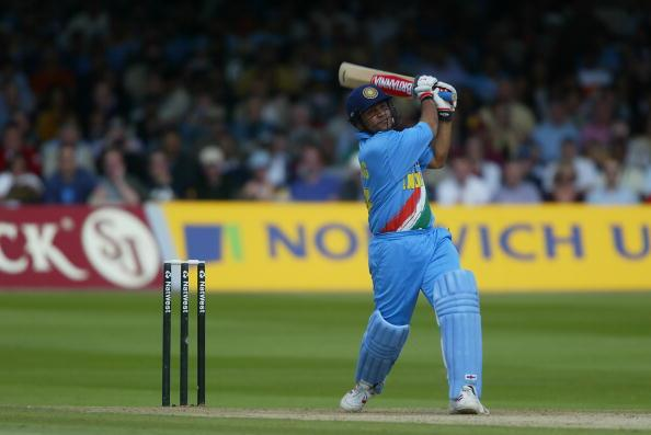 Nat West Series 2002 Final England v India at Lord's 13-07-2002 VIRENDER SEHWAG / INDIA