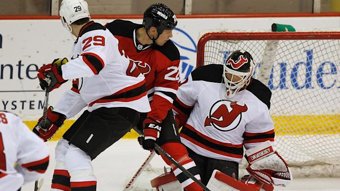New Jersey Devils Practice Session
