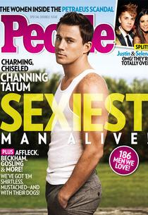 Channing Tatum for People Magazine | Photo Credits: People Magazine
