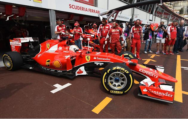 Formula One - Vettel snatches top spot in final practice