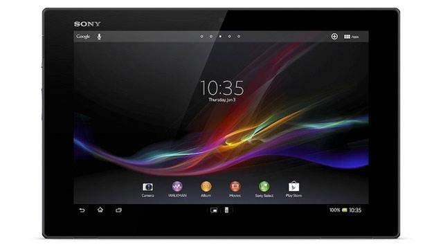 Sony Xperia Tablet Z Takes Title of Thinnest and Lightest Tablet