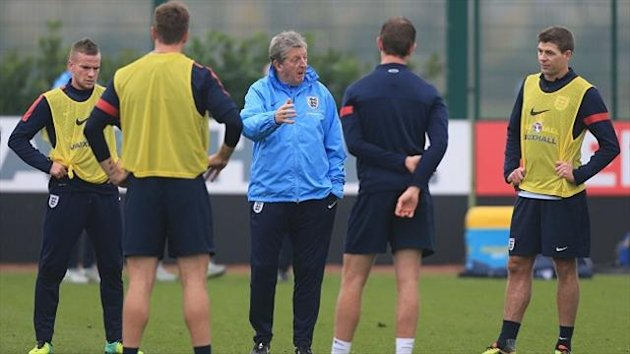 Roy Hodgson fears that he will not have enough time to work with his players