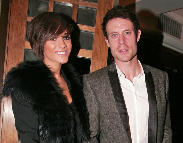 Frankie Sandford and Wayne Bridge