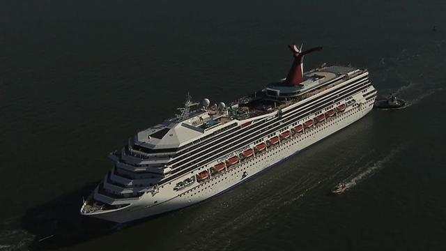 Fuel line leak named as cause of fire on Carnival Triumph