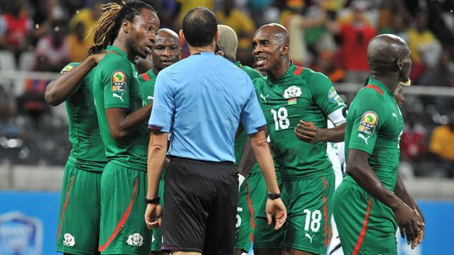 African Cup of Nations - Ref banned after semi-final shocker