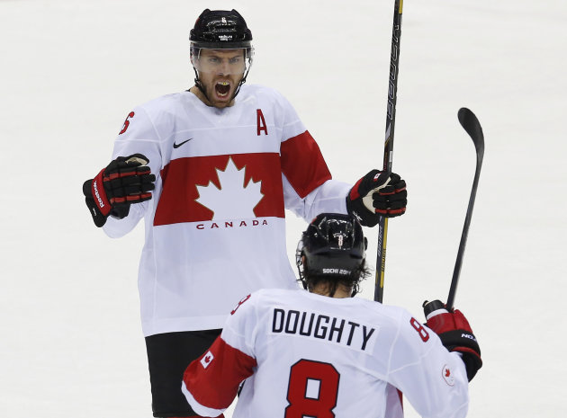 Canada avoids Olympic upset and squeaks by Latvia, faces ...