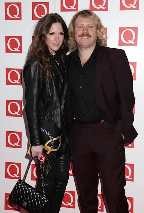 Leigh Francis turned up with his wife...how bang tidy is she?!