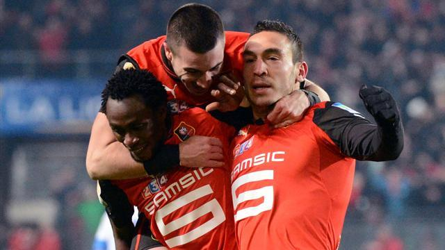 Ligue 1 - Rennes beat Montpellier to reach League Cup final