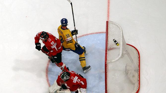 Switzerland v Sweden - 2013 IIHF Ice Hockey World Championship Final