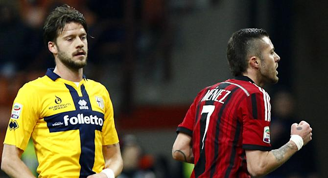 Video: AC Milan vs Parma