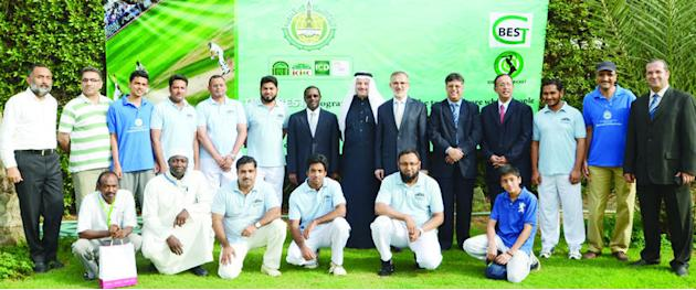 IDB-Blue are Islamic Development Bank cricket champions