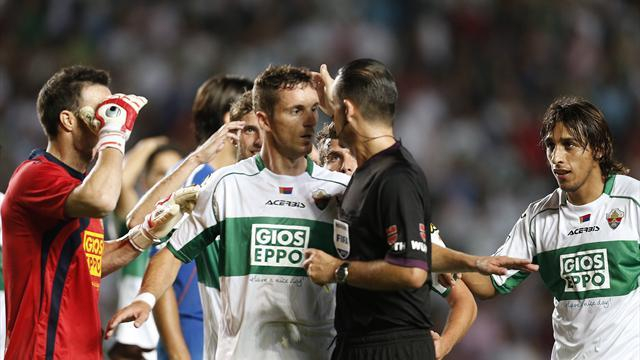 Liga - Federation official questions Real penalty referee