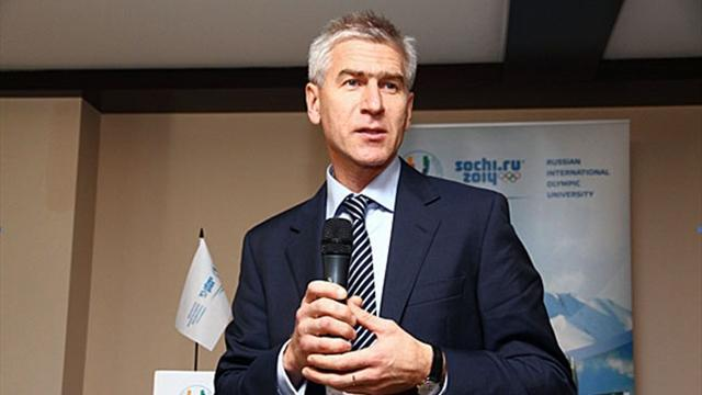 Fisu - FISU 1st Vice-President at Peace and Sport Forum 2012