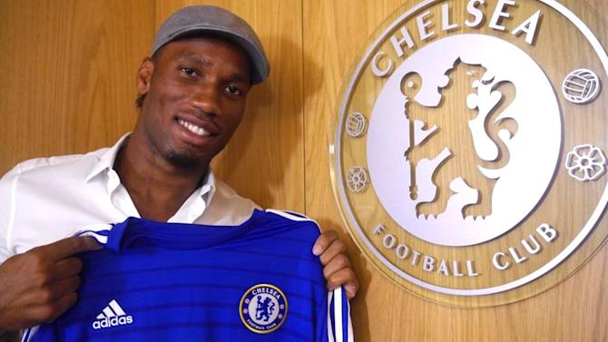 Premier League - Excited Drogba aims to end Chelsea's five-year title wait
