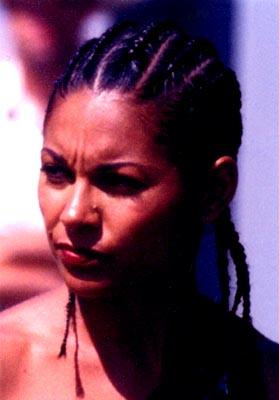 Salli Richardson in DreamWorks' Biker Boyz