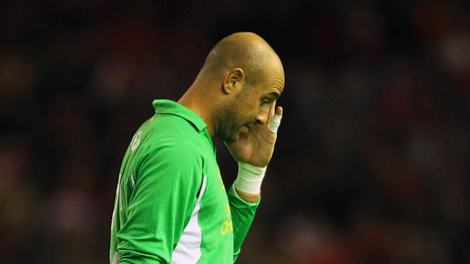 Jose Reina is going nowhere according to his agent