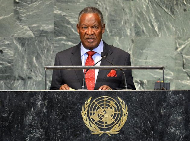 Zambian president dies in London