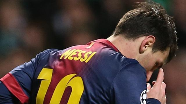 Liga - Messi back in training, available for Osasuna game