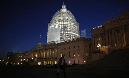 Senate passes Republican budget with deep safety net cuts