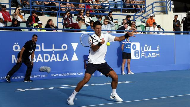 Tennis - Djokovic to face Almagro in Abu Dhabi final